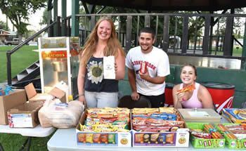 Movies in the Park concessions