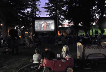 Movies in the Park Screen