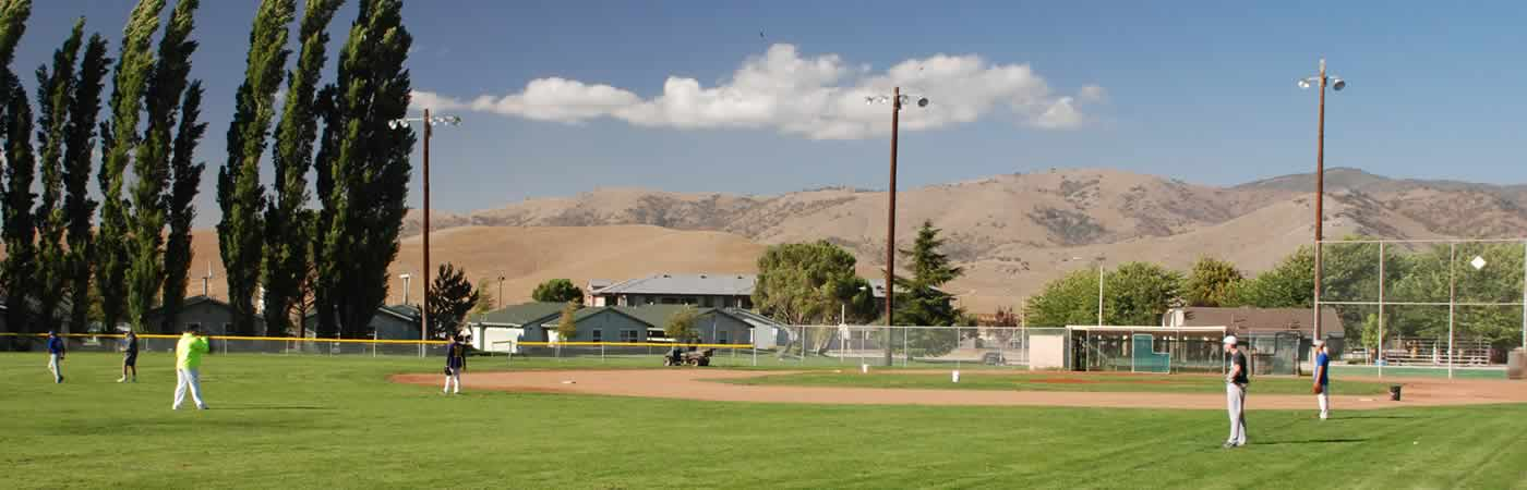 West Park ball fields