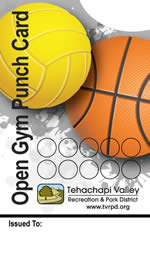 Open Gym 10-Visit Punch Card